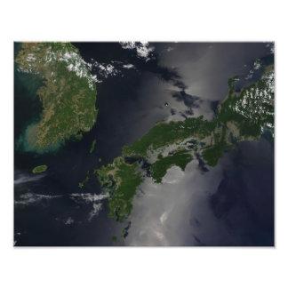North and South Korea, Photo Print
