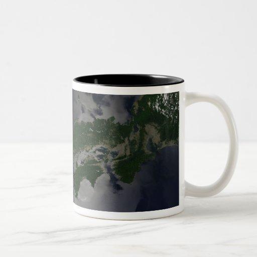North and South Korea, Two-Tone Coffee Mug