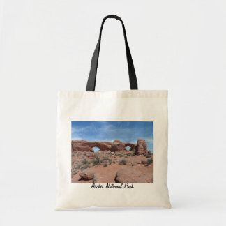 North and South Windows- Arches National Park Tote Bag