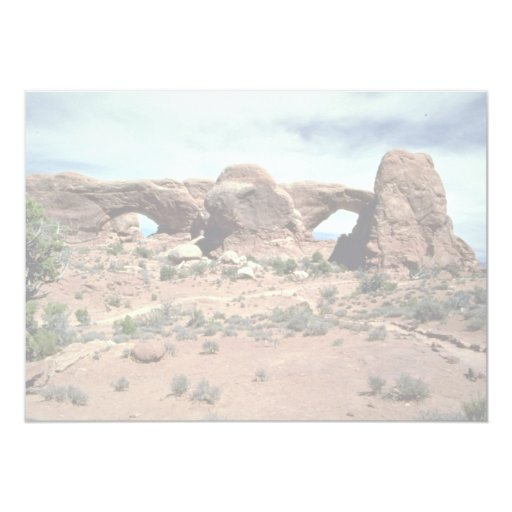 North and South windows, Arches National Park, Uta Announcements