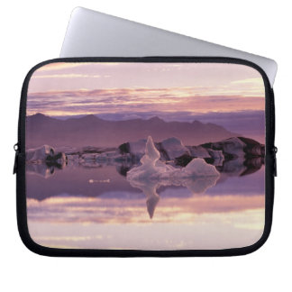 North Atlantic, Iceland, Breioamerkurjokull Laptop Sleeve