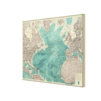 North Atlantic Ocean Gallery Wrap Canvas