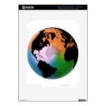North Atlantic Ocean Current Map iPad 3 Decals