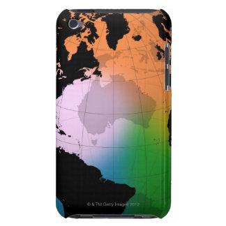 North Atlantic Ocean Current Map iPod Case-Mate Cases