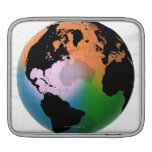 North Atlantic Ocean Current Map Sleeves For iPads