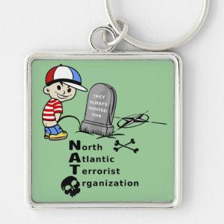 North Atlantic Terrorist Organization Keychain