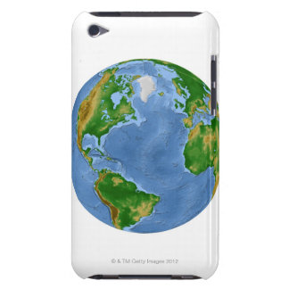 North Atlantic Vegetation Map Case-Mate iPod Touch Case
