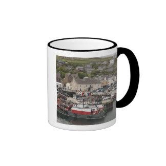 North Atlantic waterfront port of Stromness Ringer Mug