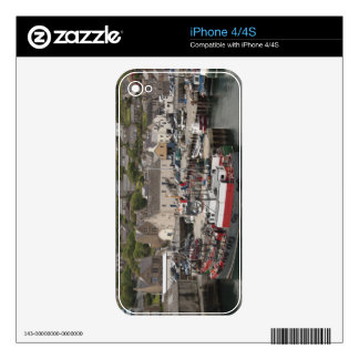 North Atlantic waterfront port of Stromness Decal For The iPhone 4S
