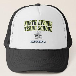 North Avenue Trade School  - Plumbing Trucker Hat