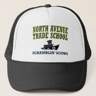 North Avenue Trade School - Scramblin' Scows Trucker Hat