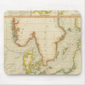 North, Baltic seas Mouse Pad