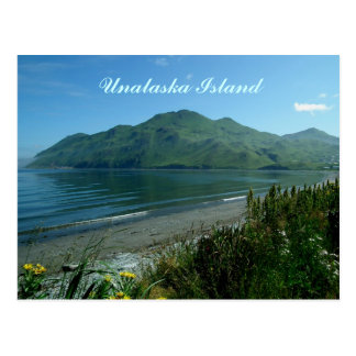 North Beach By Unalaska City Postcard