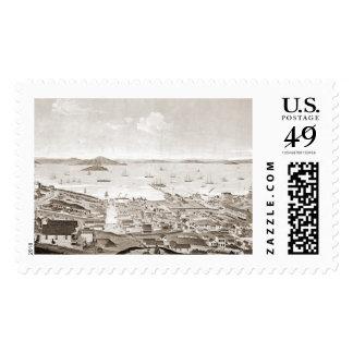 North Beach San Francisco 1861 Postage