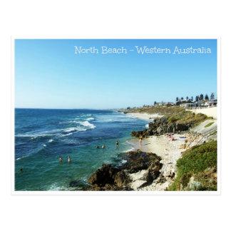 North Beach Western Australia Postcard