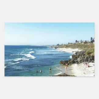North Beach Western Australia Rectangular Sticker