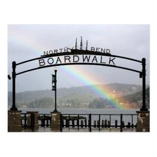 North Bend Boardwalk Postcard