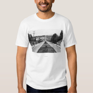 North Bend, Oregon Town View Photograph T-shirts