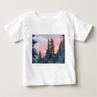 North Bend Snow Sunset Shirt