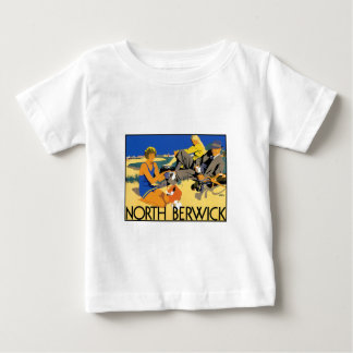 North Berwick Beach Baby T-Shirt
