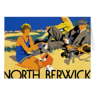 North Berwick Beach Card