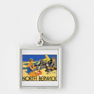 North Berwick Beach Key Chain