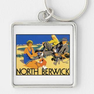 North Berwick Beach Keychain