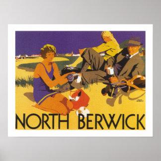 North Berwick (border) Poster