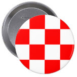 North Brabant, Netherlands 4 Inch Round Button
