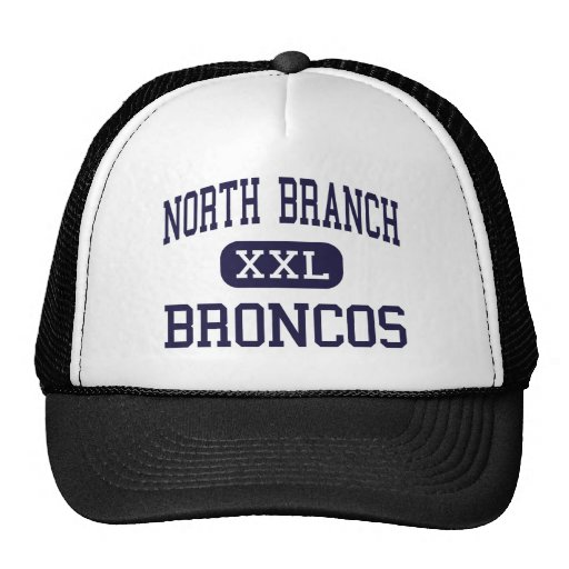 North Branch - Broncos - Senior - North Branch Hats from Zazzle.com