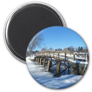 North Bridge 2 Inch Round Magnet