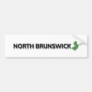 North Brunswick, New Jersey Bumper Sticker