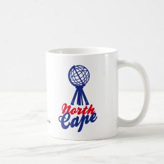 NORTH CAPE GLOBE SCULP. TAZA DE CAFÉ