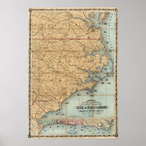 North Carolina 3 Poster