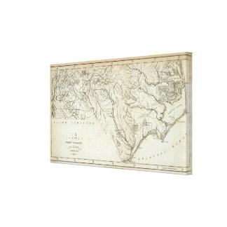 North Carolina 4 Canvas Print
