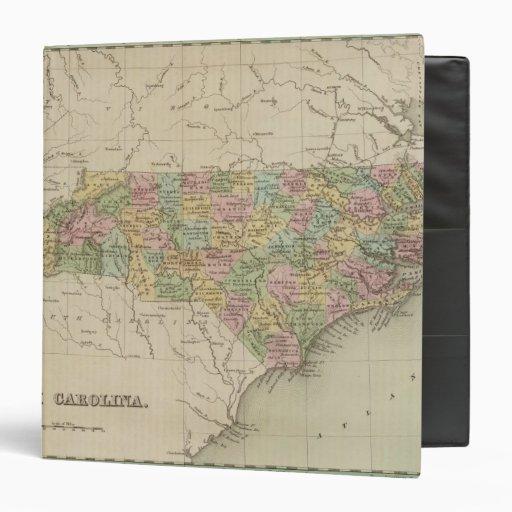North Carolina 5 3 Ring Binders