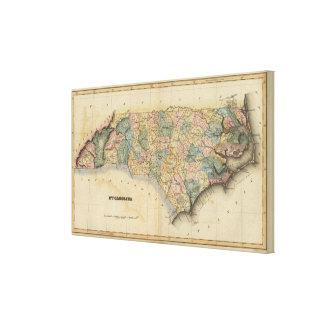 North Carolina 9 Canvas Print