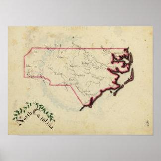 North Carolina 9 Poster