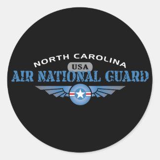 North Carolina Air National Guard Classic Round Sticker