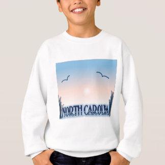 North Carolina Airbrush Sunset Sweatshirt