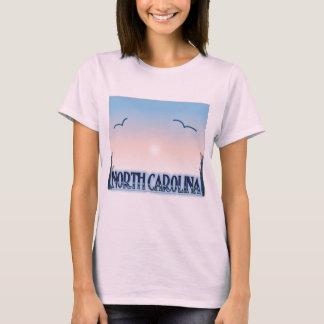 North Carolina Airbrush Sunset T-Shirt