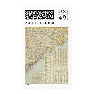 North Carolina and South Carolina 2 Postage Stamp