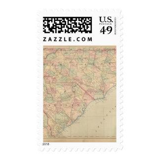 North Carolina and South Carolina Stamp
