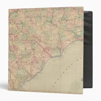 North Carolina and South Carolina Vinyl Binders