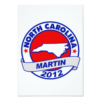 North Carolina Andy Martin Card
