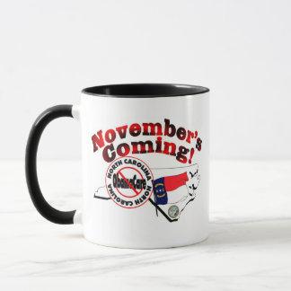 North Carolina Anti ObamaCare – November's Coming! Mug