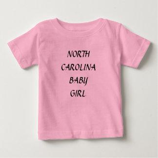 NORTH CAROLINA BABY GIRL SHIRTS