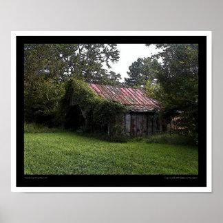 North Carolina Barn #3 Poster