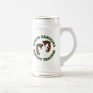 North Carolina Bigfoot Tracker Beer Stein