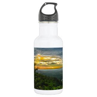 north carolina blue ridge barkway mountains stainless steel water bottle